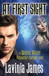 Damian Winter, paranormal therapist, book cover